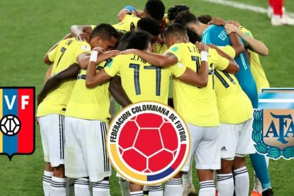 Convocatoria de Colombia para los amistosos contra Venezuela y Argentina