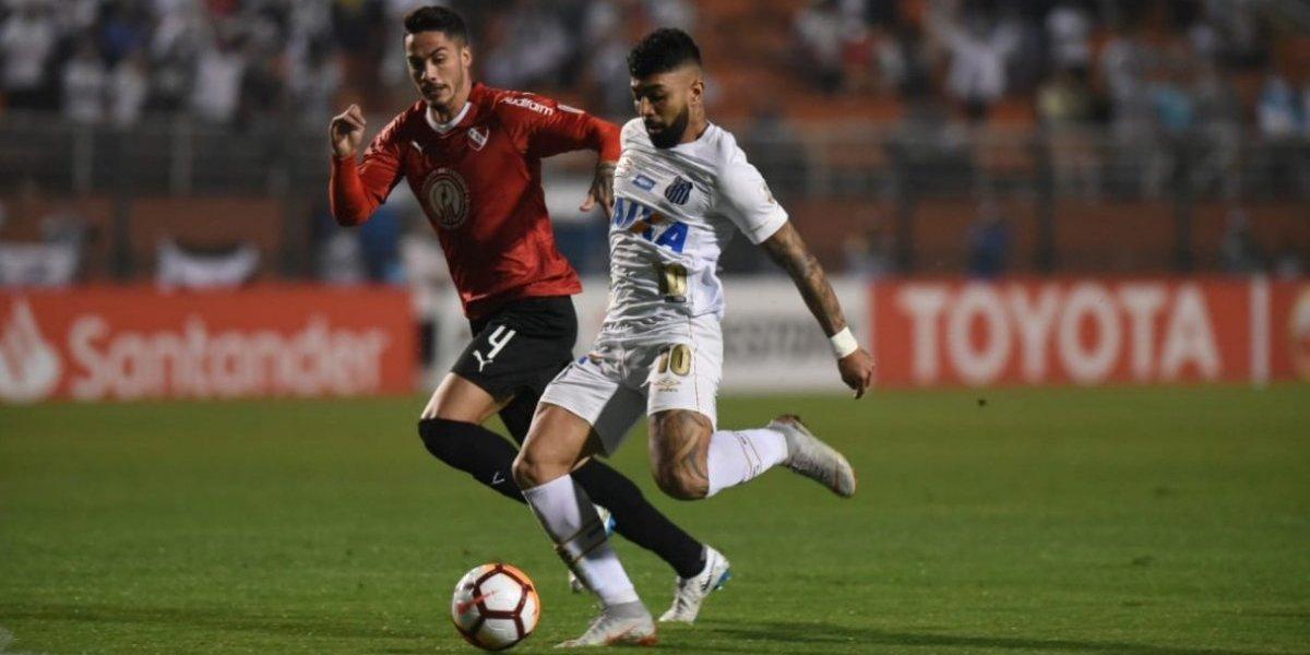 Así vivimos el suspendido encuentro entre Santos e Independiente por octavos de la Libertadores