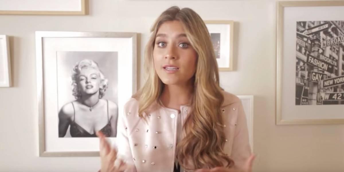 Impactante video de Laura Tobón, quien quedó atrapada en la mitad del huracán Lorena en México