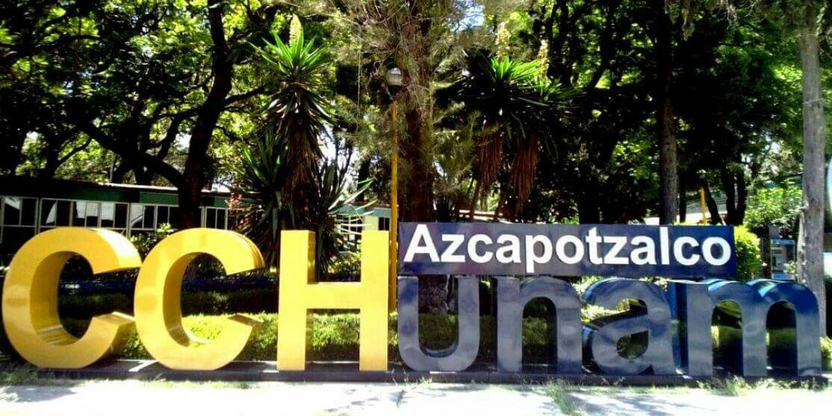 CCH Azcapotzalco en 'paro activo' por estudiantes