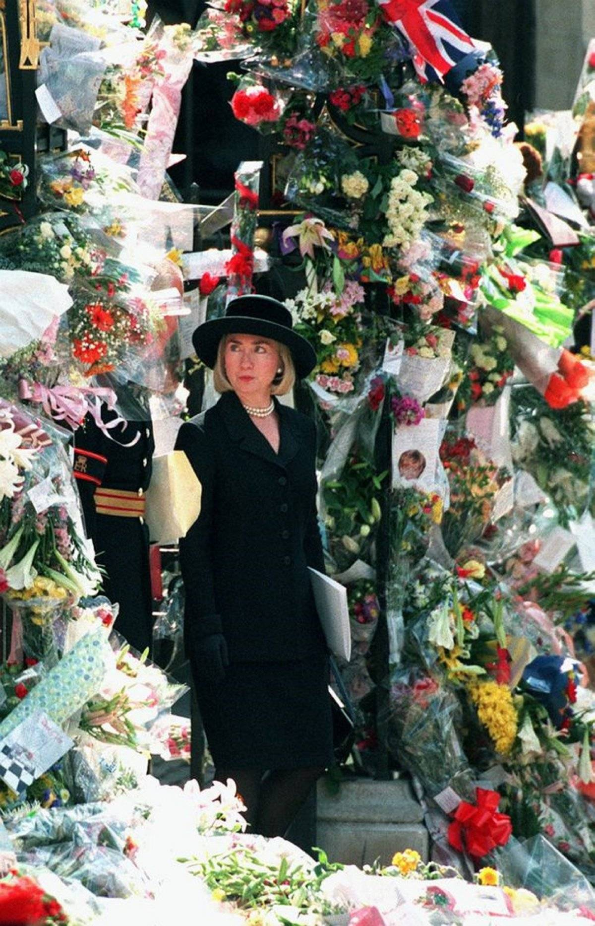 Hillary Clinton funeral Diana