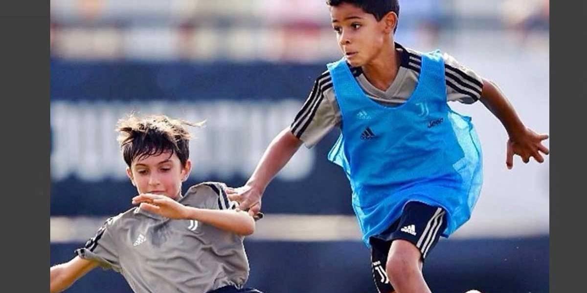 Cristianinho Ronaldo estreia com 4 gols na Juventus