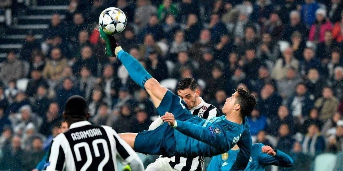 Chilena de Cristiano Ronaldo, elegido como el mejor gol del año