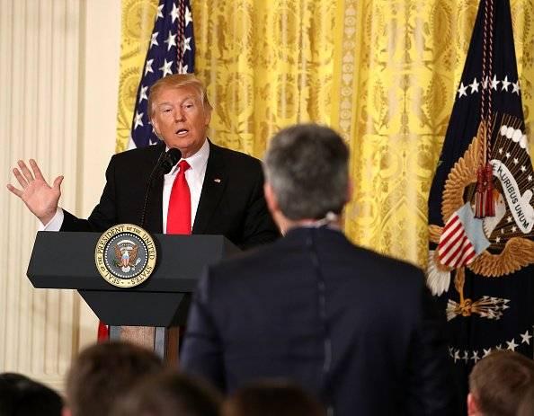 Uno de los periodistas más atacados por la Casa Blanca es Jim Acosta, de CNN Foto: Getty Images