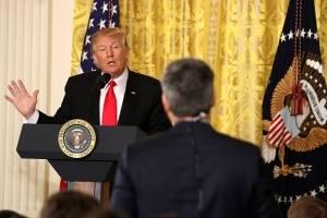 Donald Trump contra los medios de comunicación