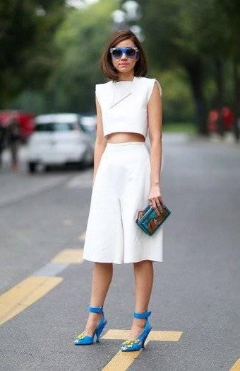 El culotte y el 'crop top