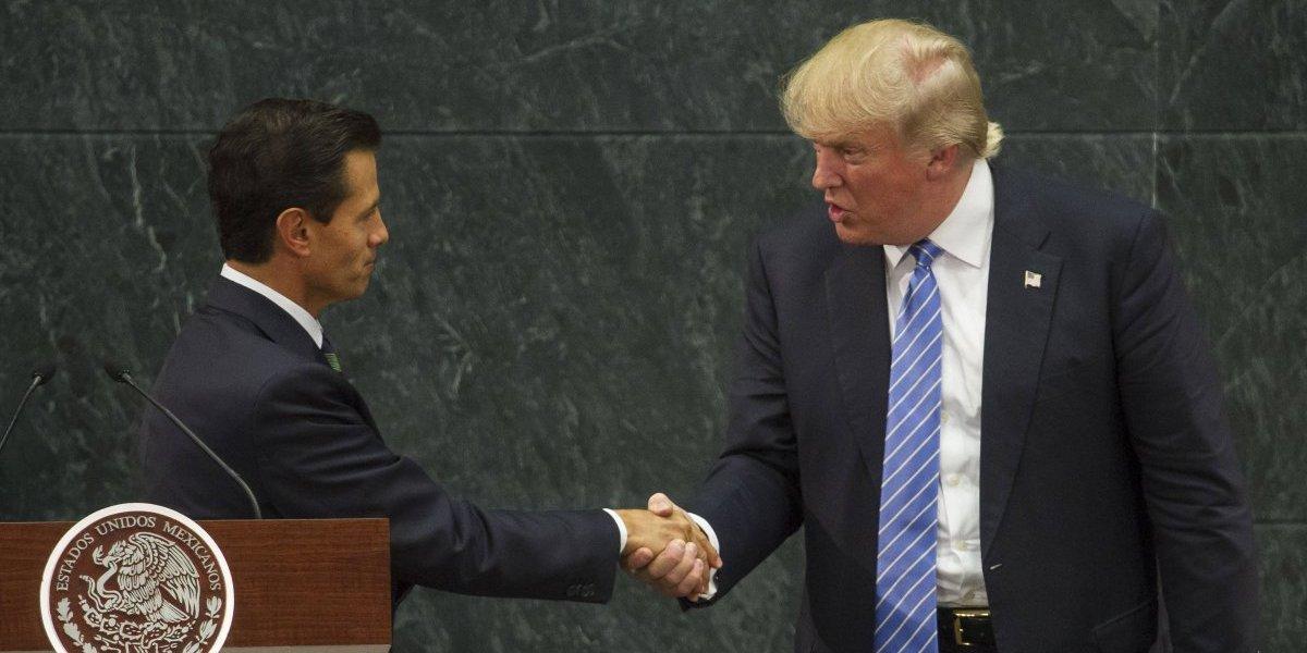Visita de Trump a México hoy tiene resultados positivos: Peña Nieto