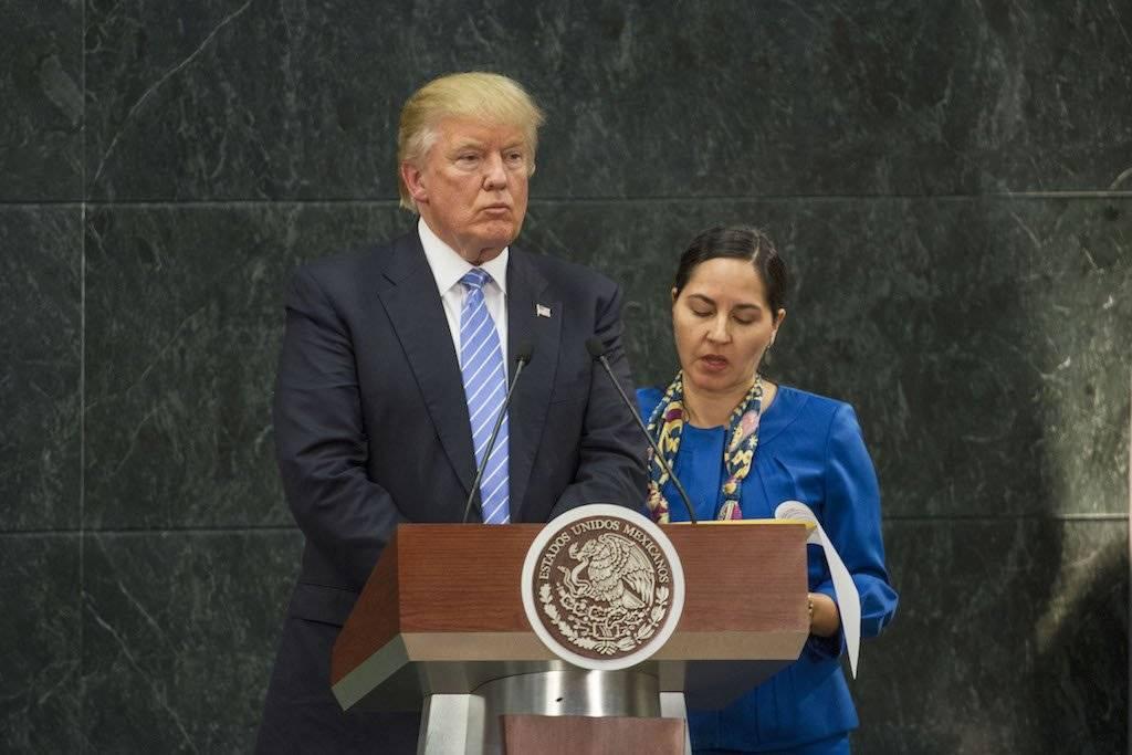"""Fue el primer evento """"presidencial"""" de Donald Trump y según analistas, también fue lo que lo catapultó en las encuestas electorales estadounidenses Foto: Cuartoscuro"""