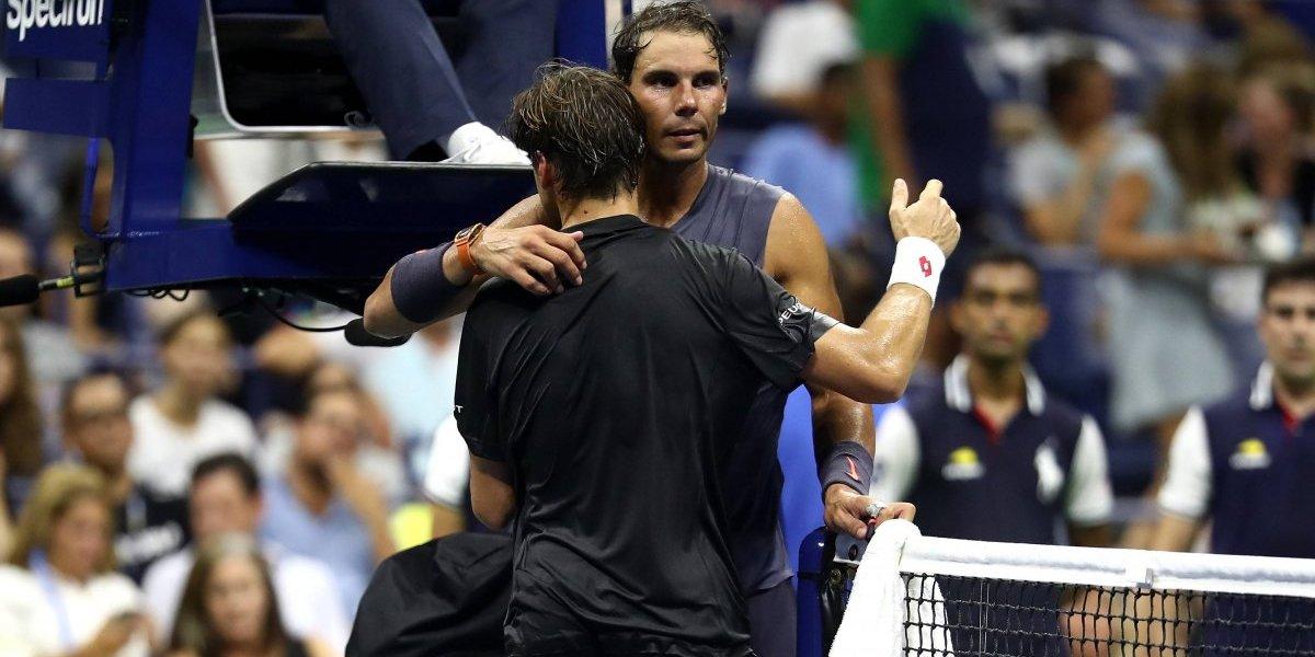 Nadal despide a Ferrer de su último Grand Slam en el US Open