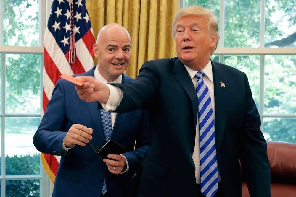 """Trump """"expulsó"""" a los miembros de la prensa. / Getty Images"""