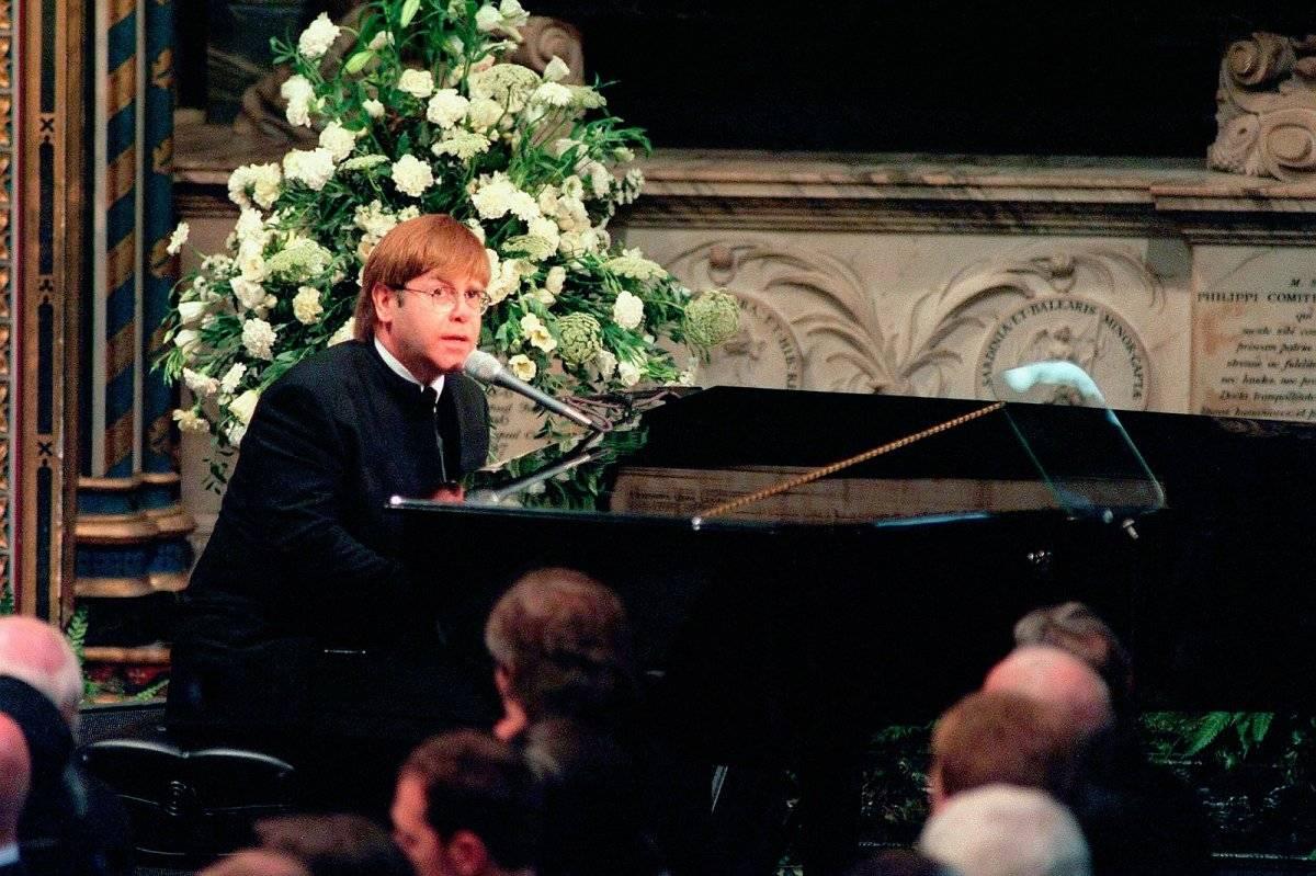 Elton John Funeral Diana