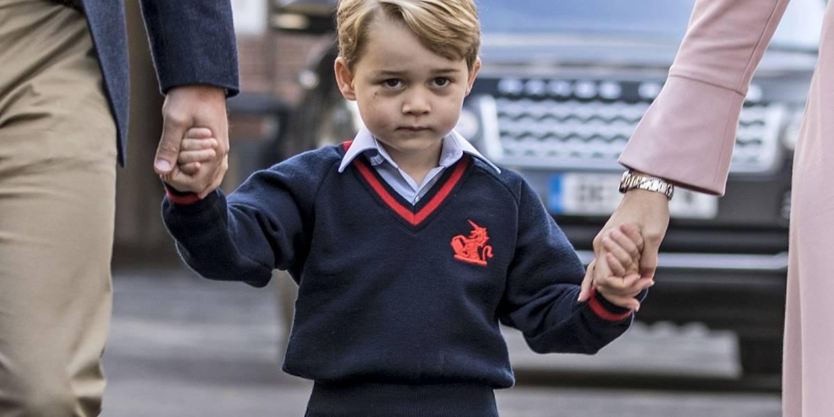 El príncipe George asiste a su primera cacería y la gente está muy molesta
