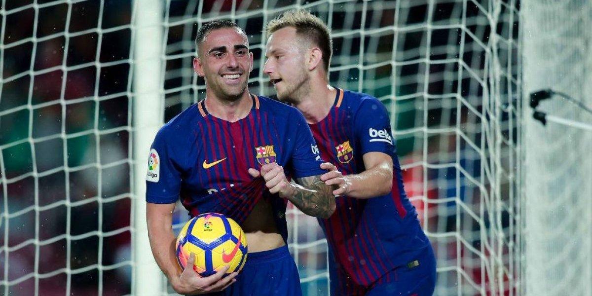 FC Barcelona sigue perdiendo jugadores y ahora se va Paco Alcácer a Borussia Dortmund
