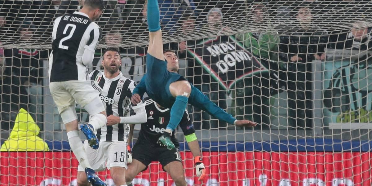 La descomunal chilena de Cristiano fue votada por la UEFA como el mejor gol de la temporada
