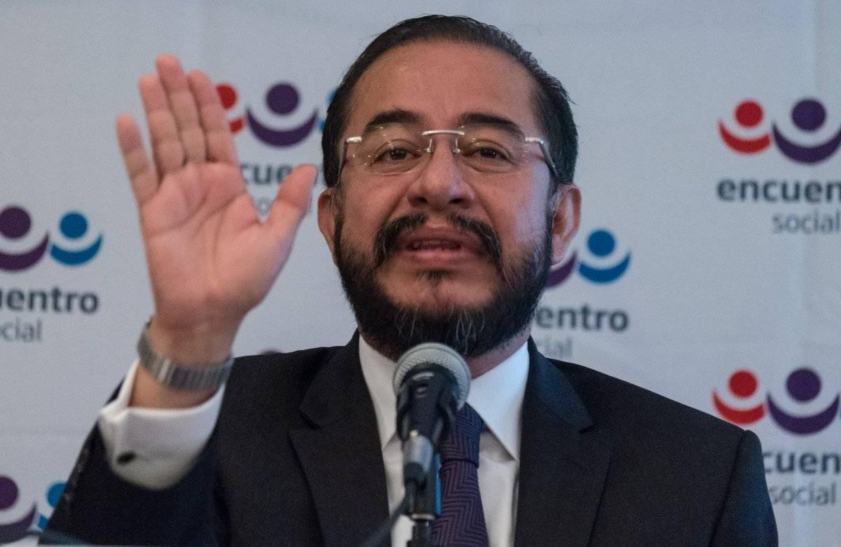 Hugo Eric Flores funge actualmente como líder nacional del PES. Foto: Cuartoscuro.