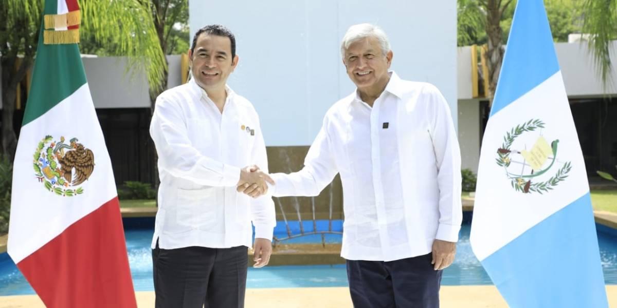 """Morales y AMLO buscan frenar la migración desde """"sus causas"""""""