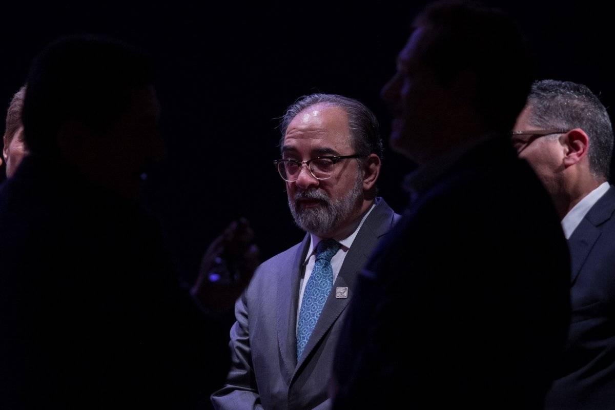 Luis Castro es el líder nacional del partido Nueva Alianza, que tiene representación magisterial. Foto: Cuartoscuro.