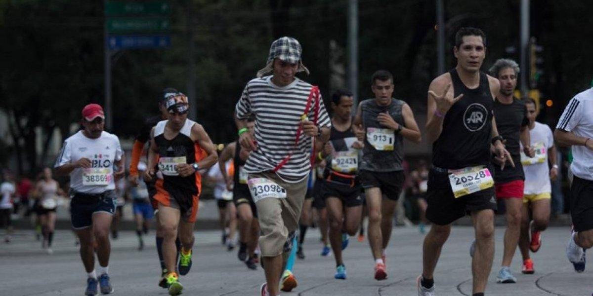 Tres mil corredores fueron descalificados del Maratón de la CDMX 2018