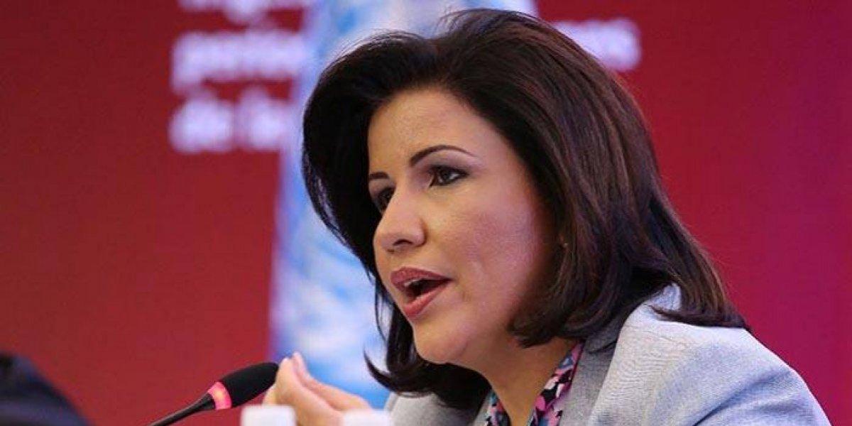 """Margarita Cedeño dice que en """"su momento"""" hablará sobre eventuales aspiraciones"""