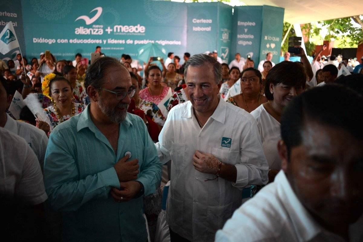 NA abanderó a José Antonio Meade como candidato presidencial. Foto: Cuartoscuro.