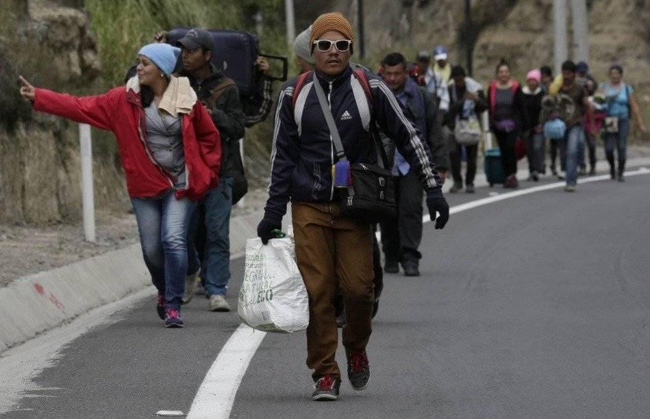 Migración venezolana