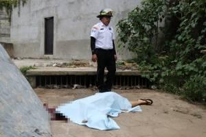 Mujer asesinada en Mixco
