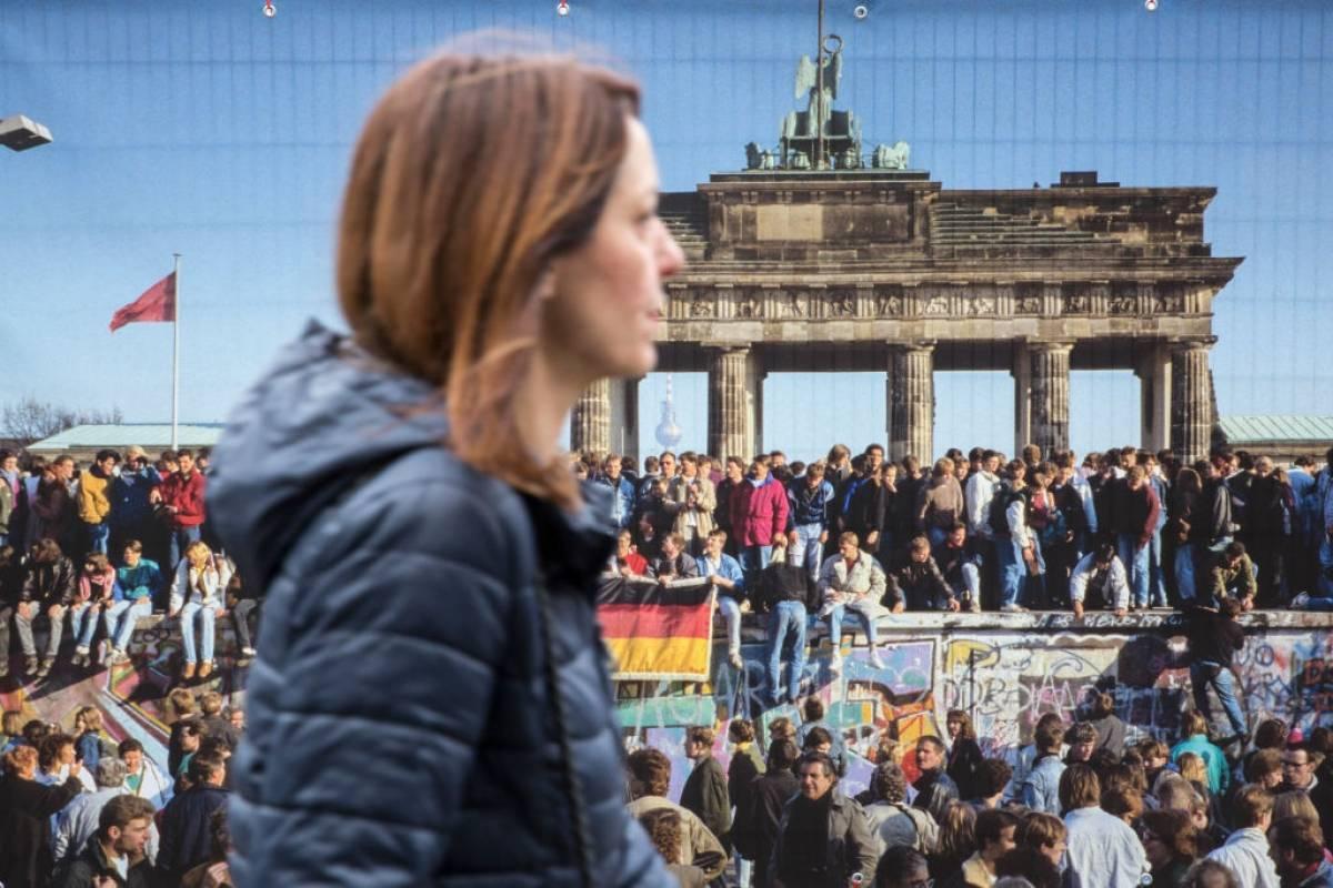 El Muro estuvo en pie 28 años, dos meses y 26 días. Foto: Getty Images