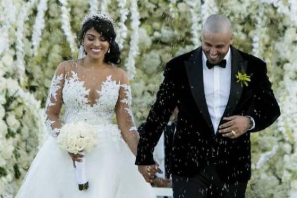 Nicky Jam en su matrimonio con Angélica Cruz