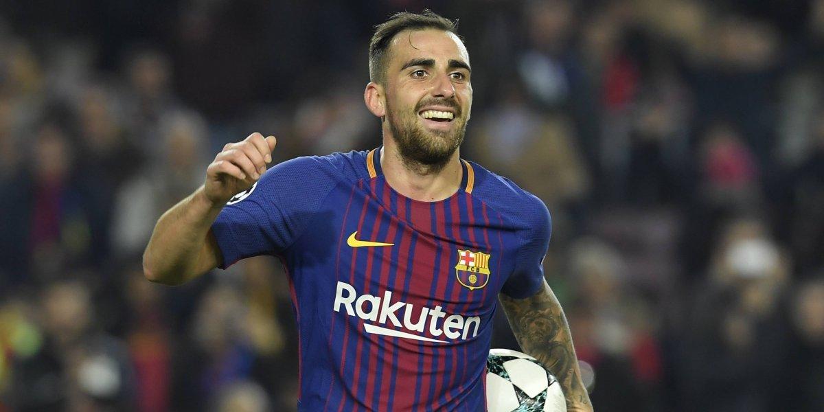 """El Barcelona cede al delantero """"Paco"""" Alcácer"""