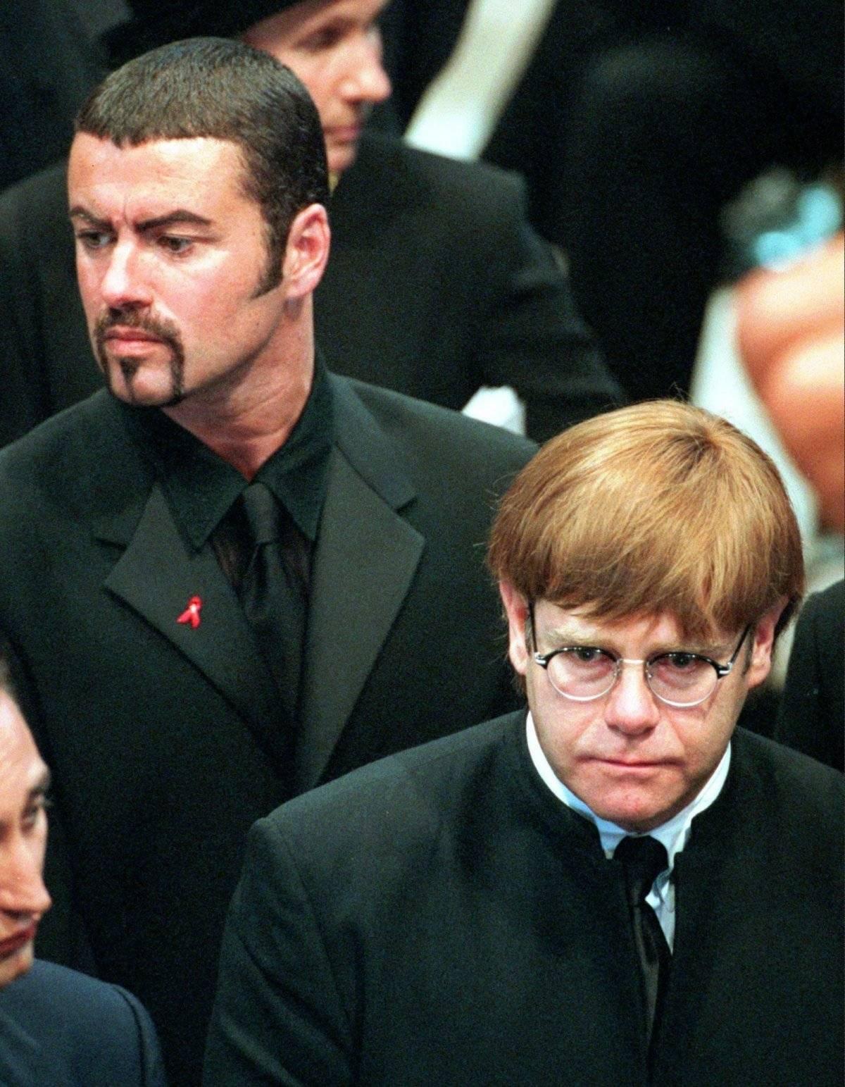 George Michael Funeral Diana