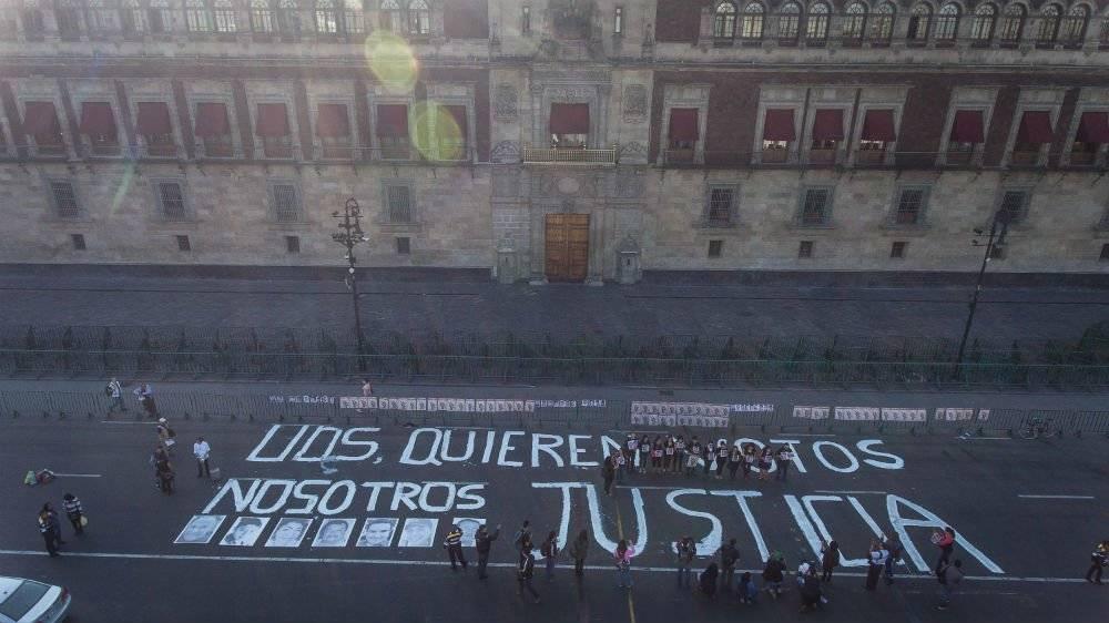 Protesta por homicidio de Héctor González Foto: Cuartoscuro