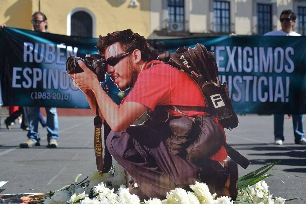 Rubén Espinosa, el fotógrafo fue asesinado en la Ciudad de México. Foto: Cuartoscuro
