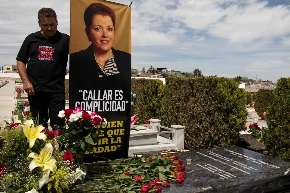 Conmemoración por el aniversario del homicidio de Miroslava Breach Foto: Cuartoscuro