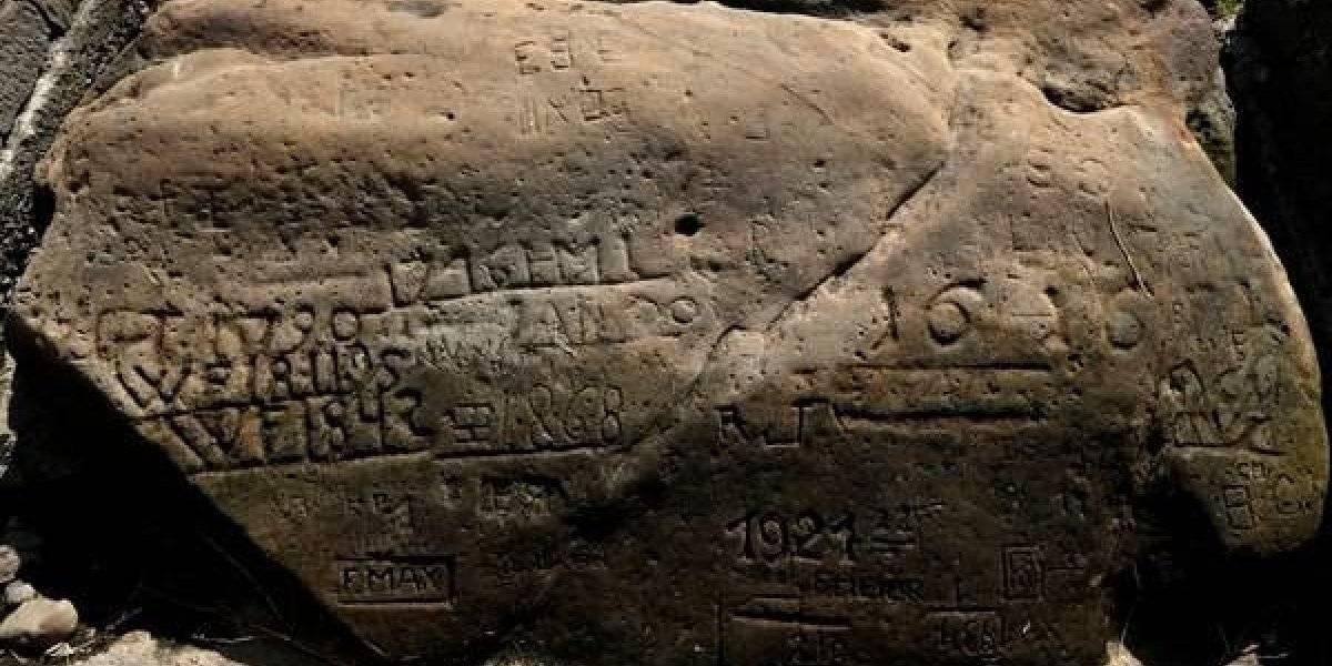 Las enigmáticas rocas que salieron a la luz por culpa de la sequía en Europa