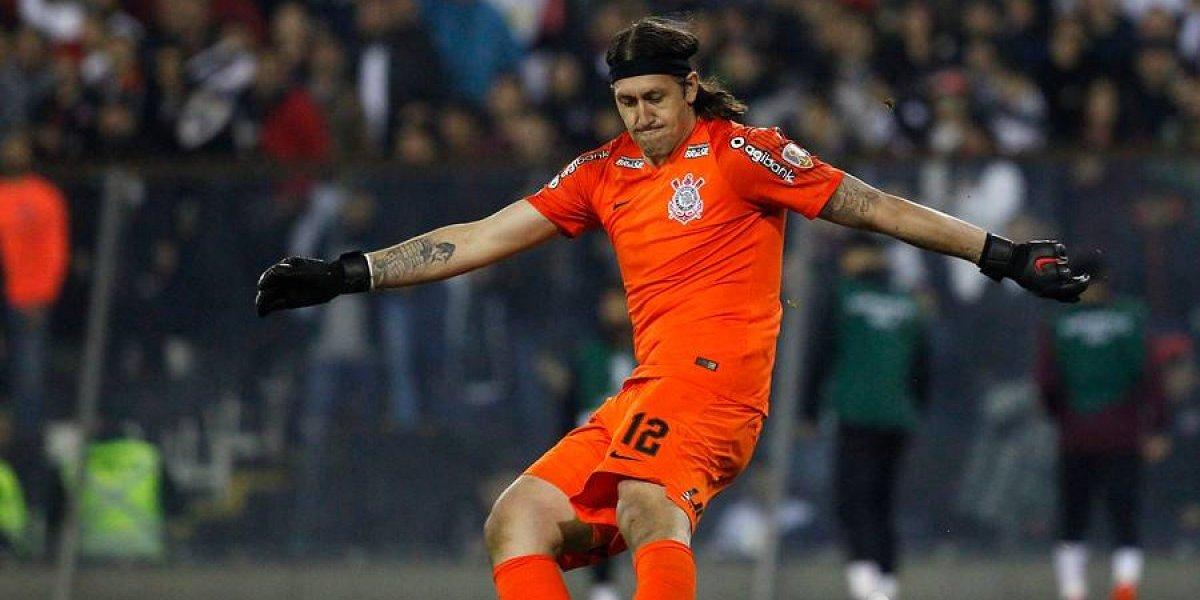 Le prenden velas: Corinthians esperará hasta última hora a su figura Cassio para el partido con Colo Colo