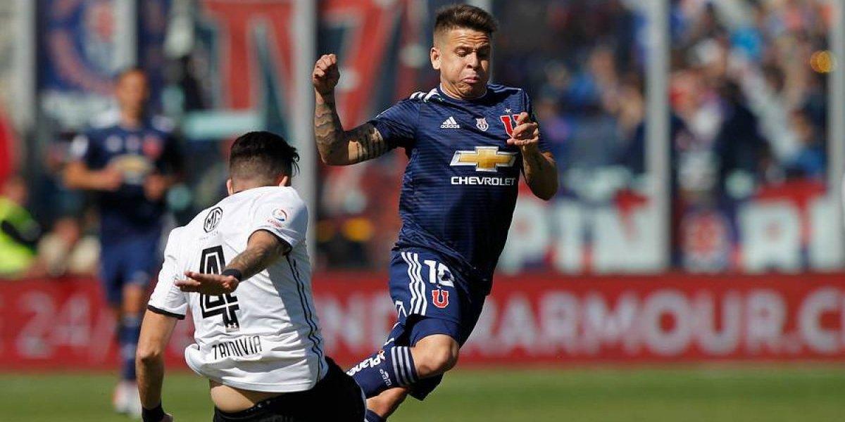 """Soteldo deja atrás el Superclásico y piensa en su futuro en la U: """"Quiero quedarme, me enamoré del club"""""""