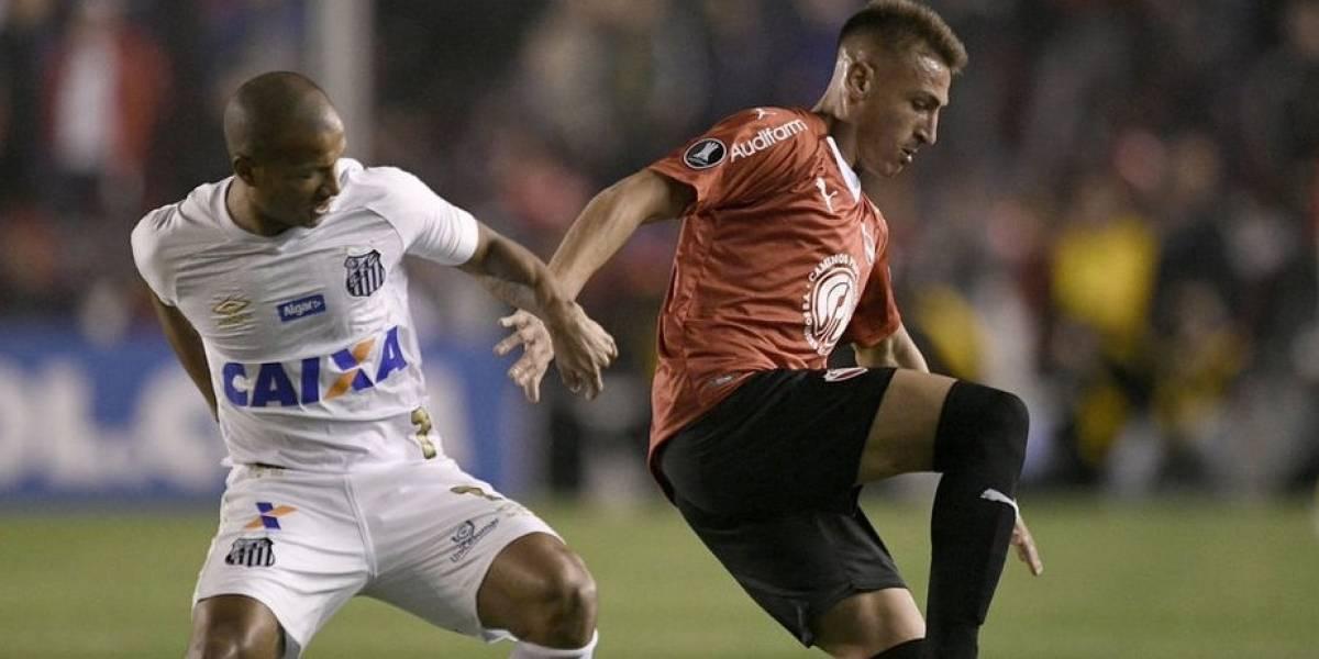 Por culpa de ex jugador de Rayados, Santos pierde en Copa Libertadores