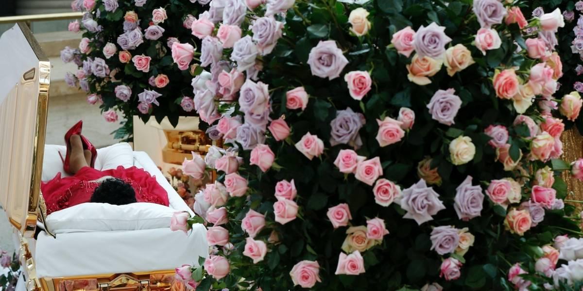 Fans dan último adiós a Aretha Franklin