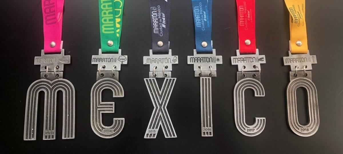Medallas Maratón CDMX