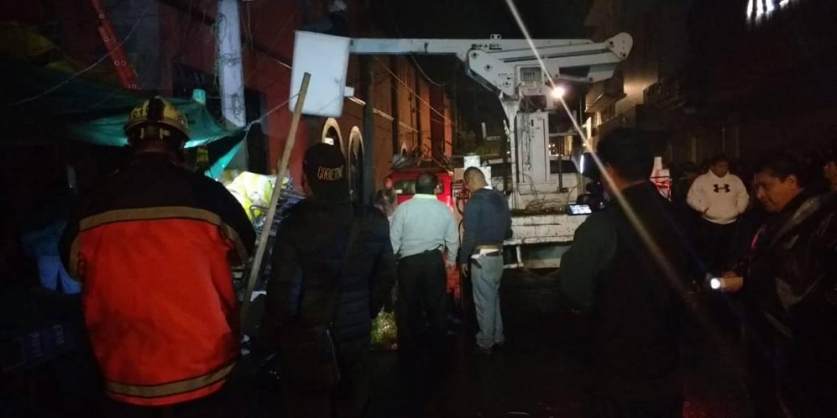 Retiran puestos semifijos del centro histórico de Xochimilco