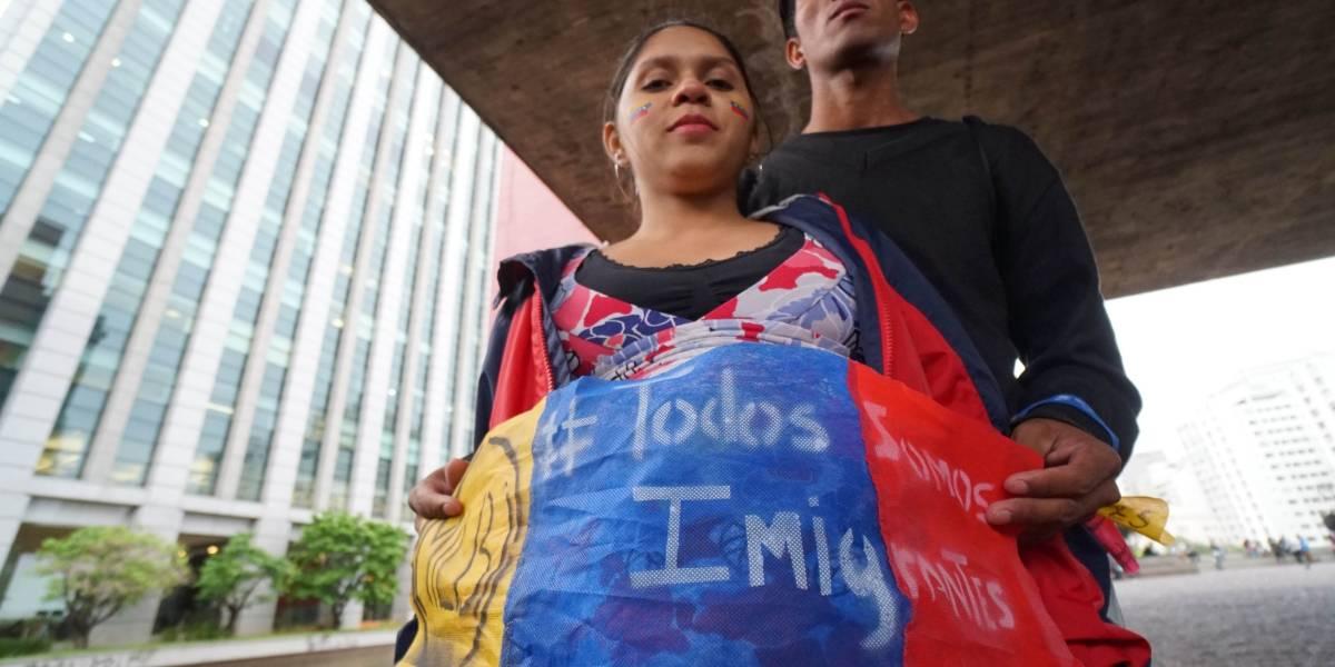Brasil se compromete a receber imigrantes da Venezuela