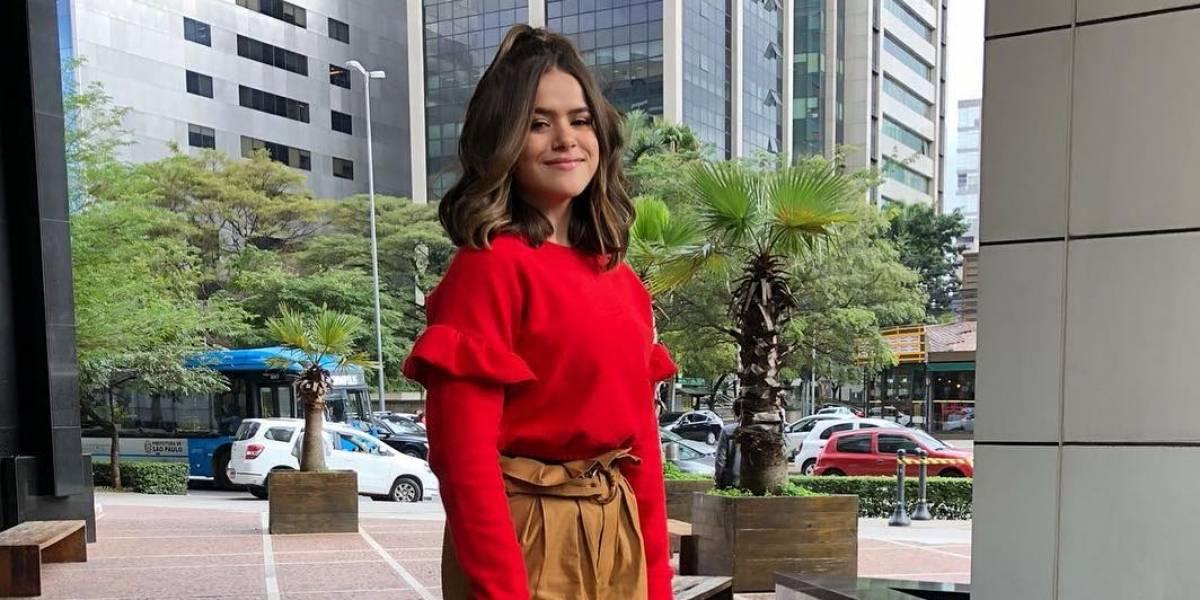 'Jamais mandaria um nude', diz Maisa Silva a Pedro Bial