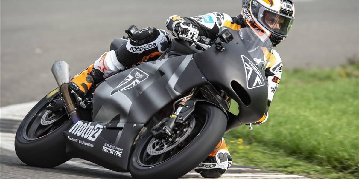 En Silverstone, Triumph presenta su versión definitiva de motor para Moto2