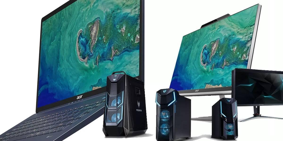 Acer se pone loco y presenta mucho hardware gamer en el IFA 2018