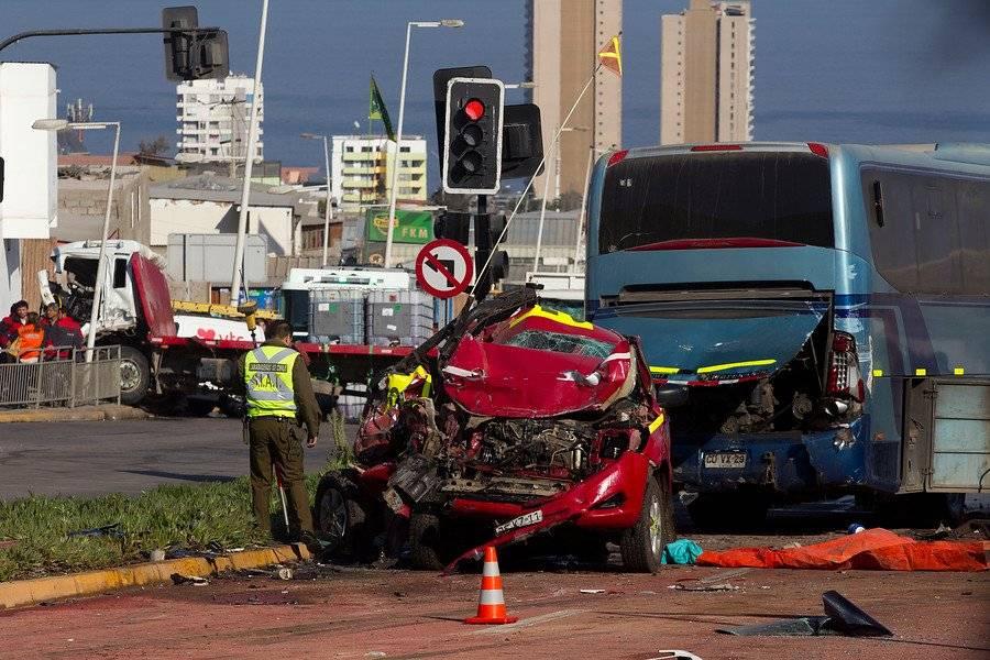 Accidente en Antofagasta deja un fallecido