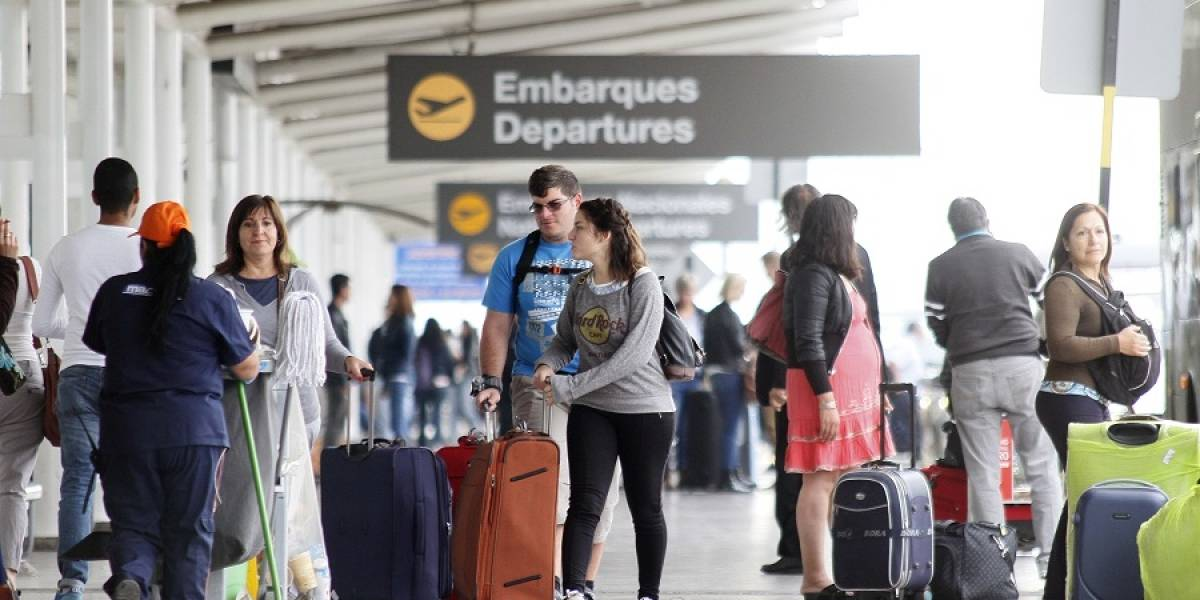 Agosto histórico: por primera vez para este mes, más de 1 millón de personas viaja en avión dentro de Chile