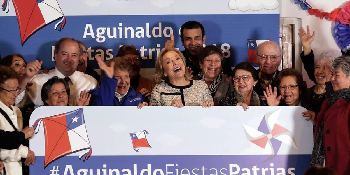 Atención pensionados: comienza a pagarse el aguinaldo de Fiestas Patrias