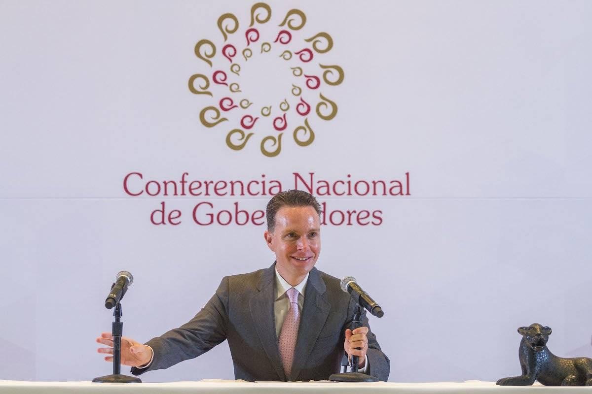 Manuel Velasco fue designado como dirigente de la bancada del Verde Ecologista. Foto: Cuartoscuro
