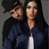 Nicky Jam y Angélica Cruz