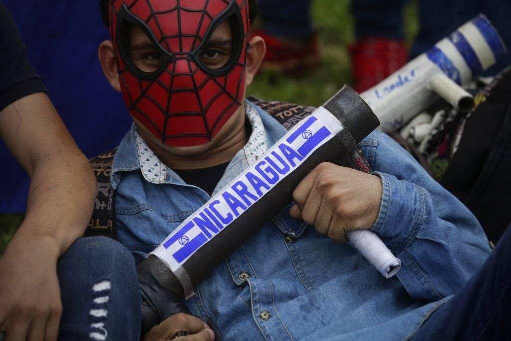 Las protestas en Nicaragua de 2018 son una serie de manifestaciones que se iniciaron el 18 de abril Foto: AP